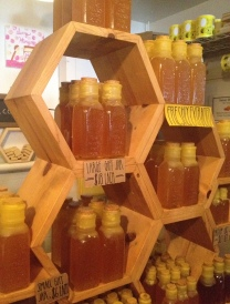 What a lovely display of honey