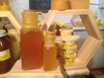 Love these jars of honey!