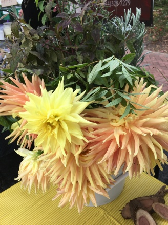 Fresh herbs & flowers