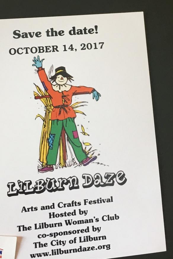 Lilburn Daze Festival 10/14/2017