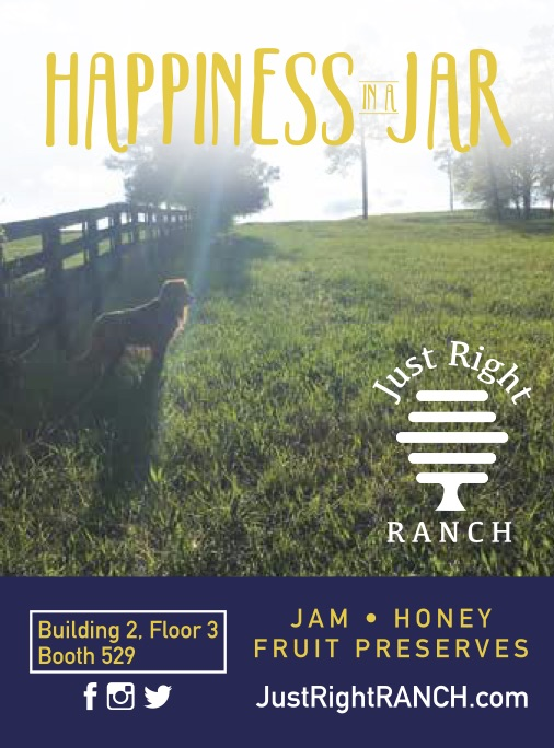 Just Right RANCH Building 2, Floor 3, Booth 529